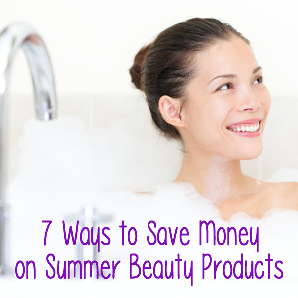 Save money on beauty