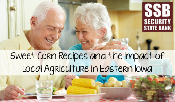 Enjoy some delicious local sweet corn this summer and thank the dedicated farmers of Eastern Iowa for their hard work this season.