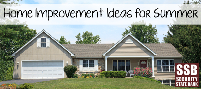 The summer season is ideal for doing home improvement projects that cannot be done in any other season.
